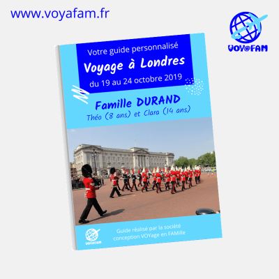 Guide Londres VOYAFAM